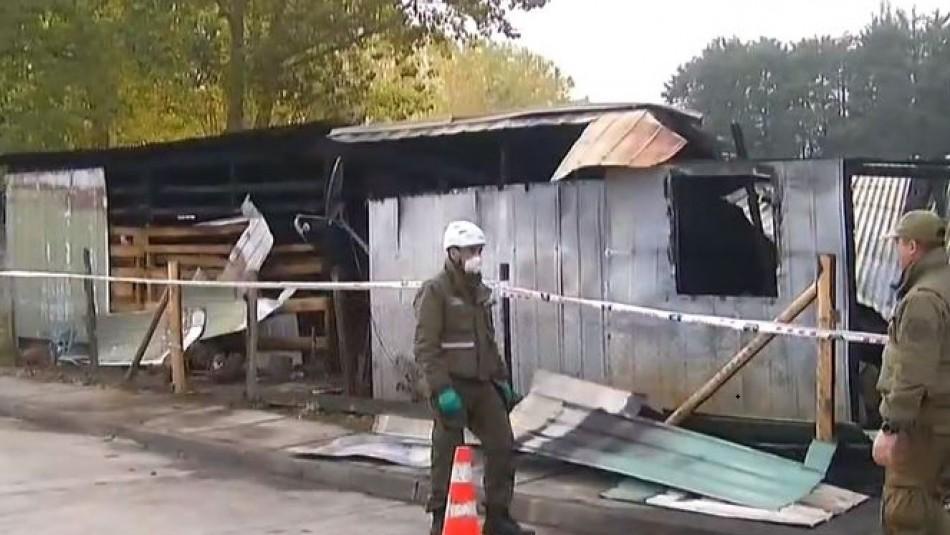 La Araucanía: Tres niños mueren tras quedar atrapados en incendio de su casa