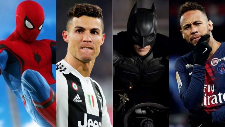 Los superhéroes y el fútbol. / AhoraNoticias.cl