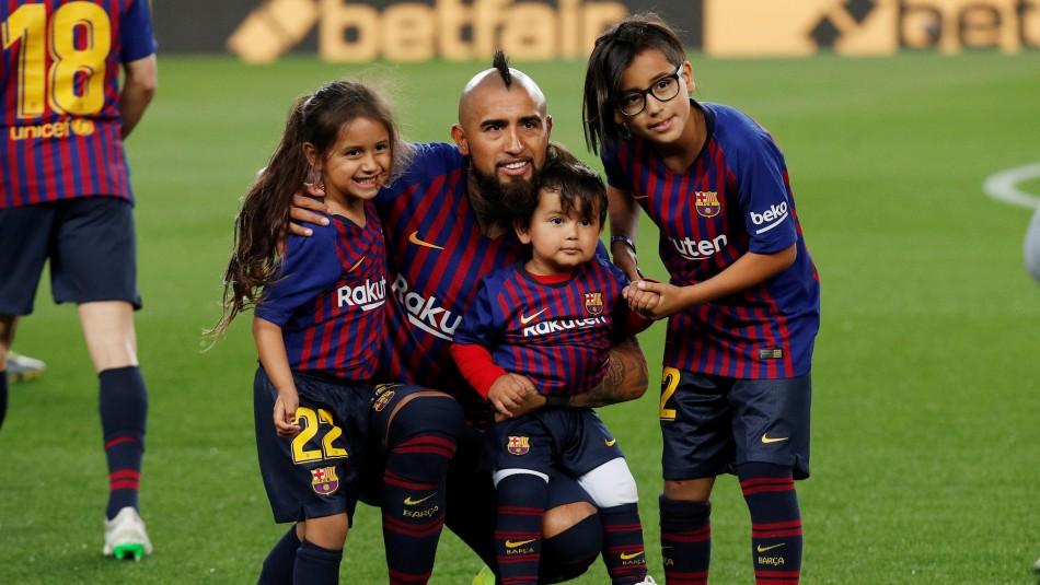 ¡Vidal campeón con Barcelona! Logró el título 20 de su exitosa carrera deportiva y con récord