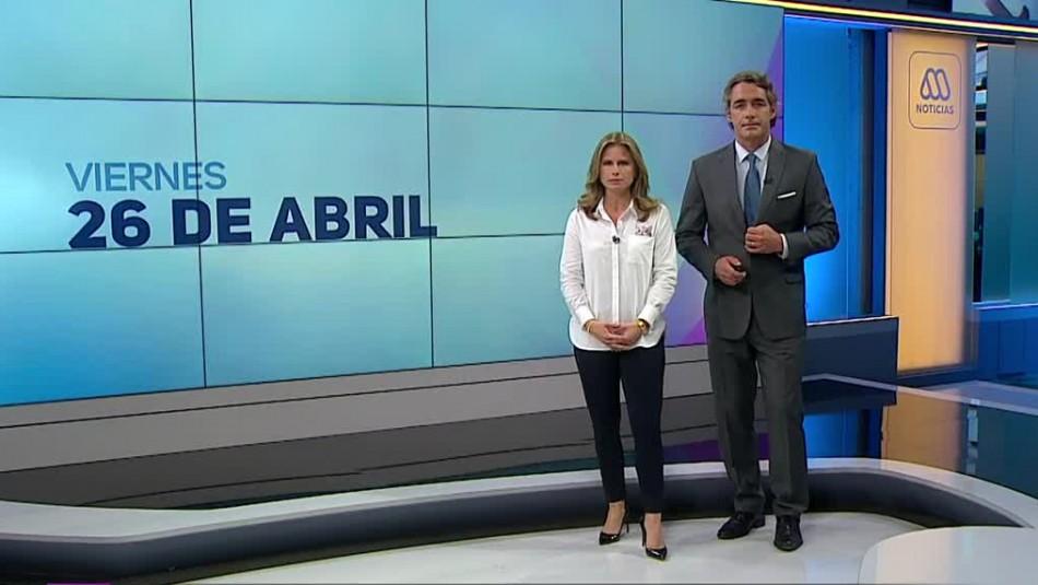 Ahora Noticias Central 26 de abril