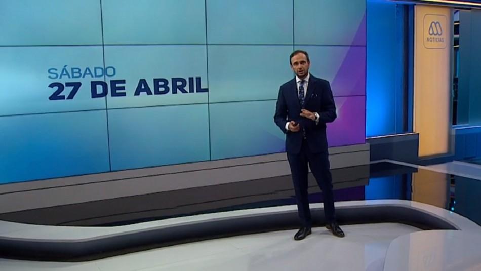 Ahora Noticias Central 27 de abril