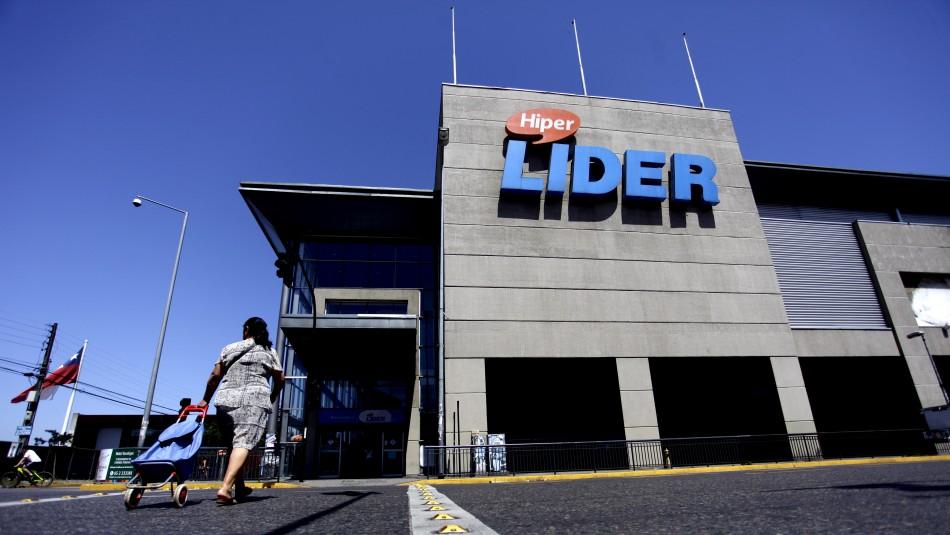 Supermercado Lider / Foto Agencia Uno