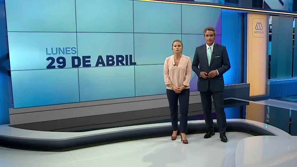 Ahora Noticias Central 29 de abril