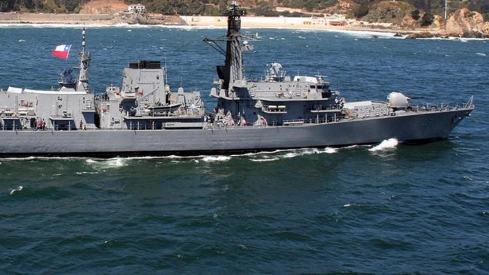 Armada captura pesquero peruano frente a costas de Arica / Armada de Chile.