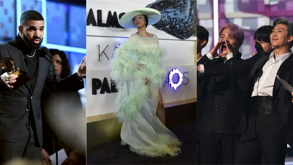 Nominados a los Billboard Awards / Collage con fotos de AFP