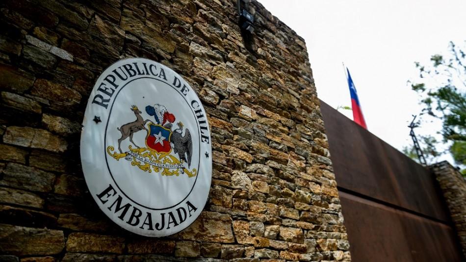 Embajada de Chile en Caracas / AFP