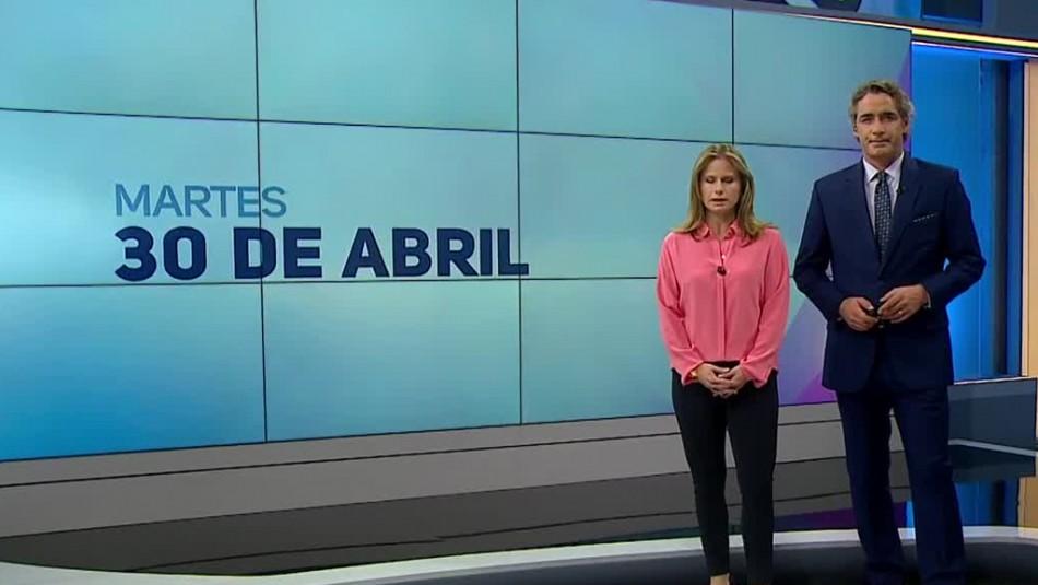 Ahora Noticias Central 30 de abril