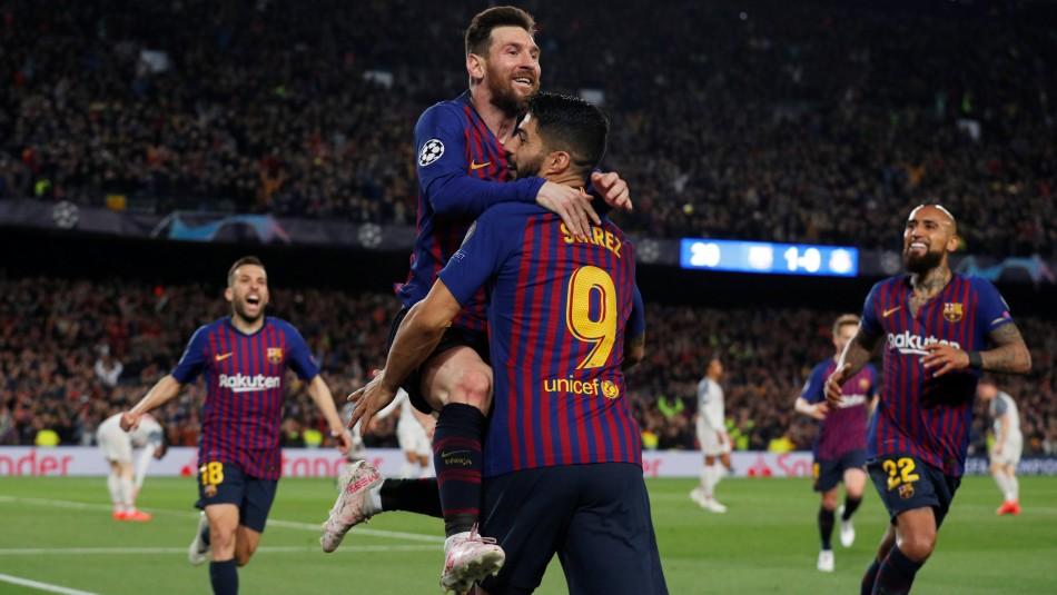 Messi, figura del Barcelona. / Reuters