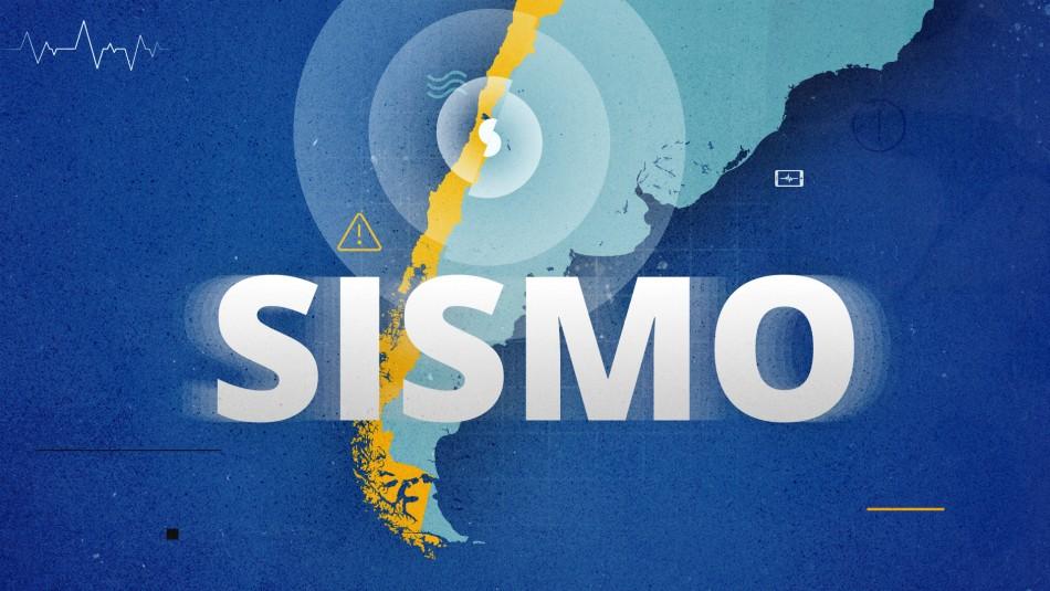Temblor afectó a la zona central de Chile