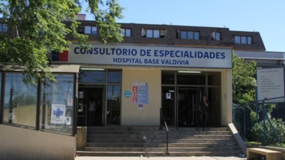 Hospital Base de Valdivia / Gentileza.