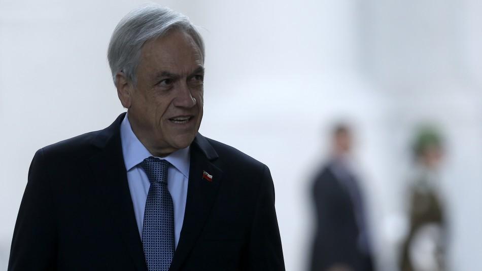 Sebastián Piñera / Agencia Uno