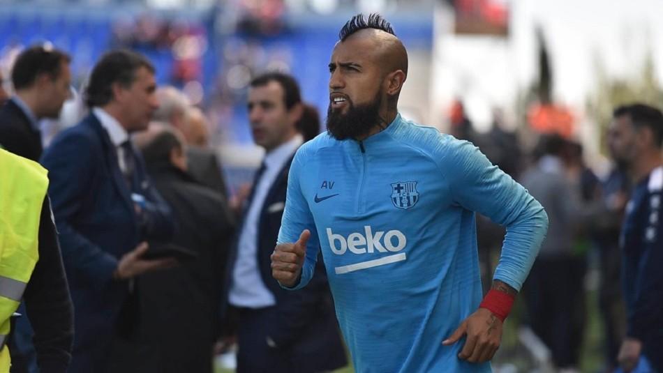 Vidal alabó a Erick Pulgar