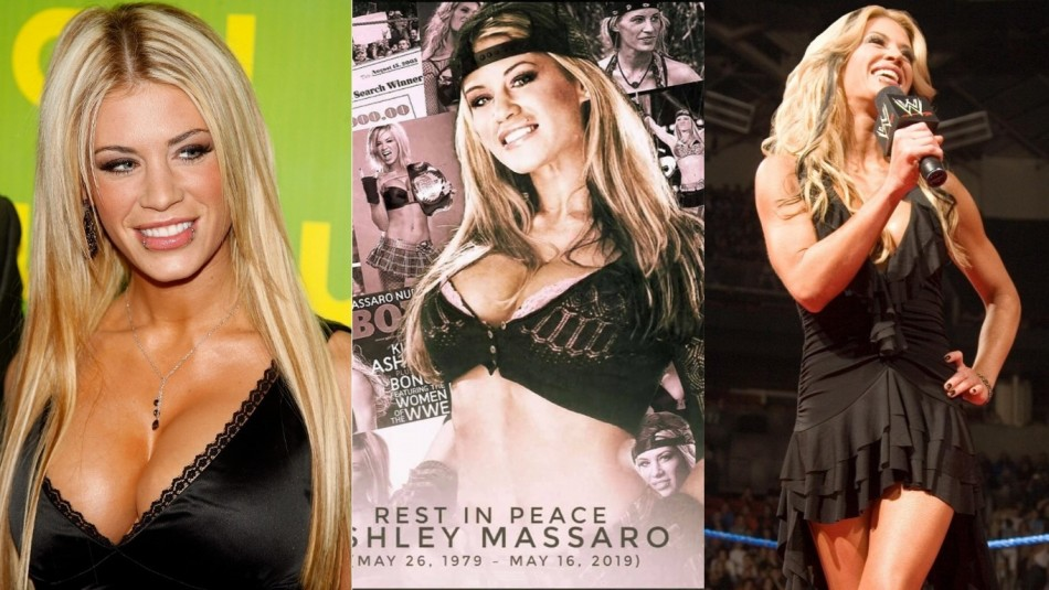 Ashley Massaro fue encontrada muerta. / AFP