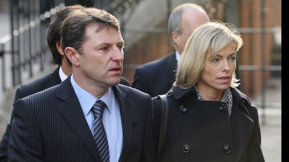 Los padres de Madeleine McCann.