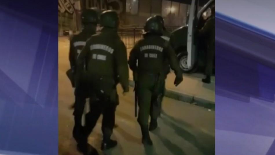 Narco funeral en La Pintana