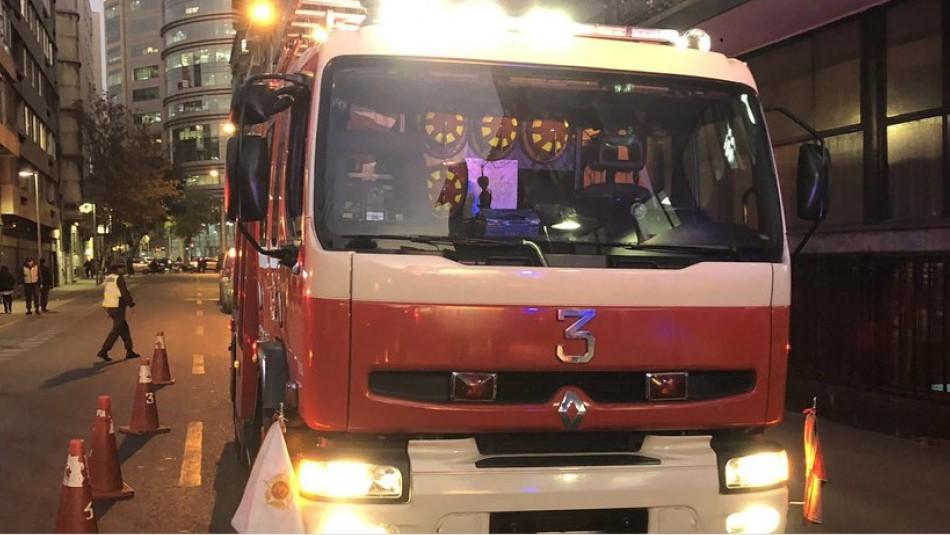 Seis muertos deja emergencia por emanación de gas en el centro de Santiago