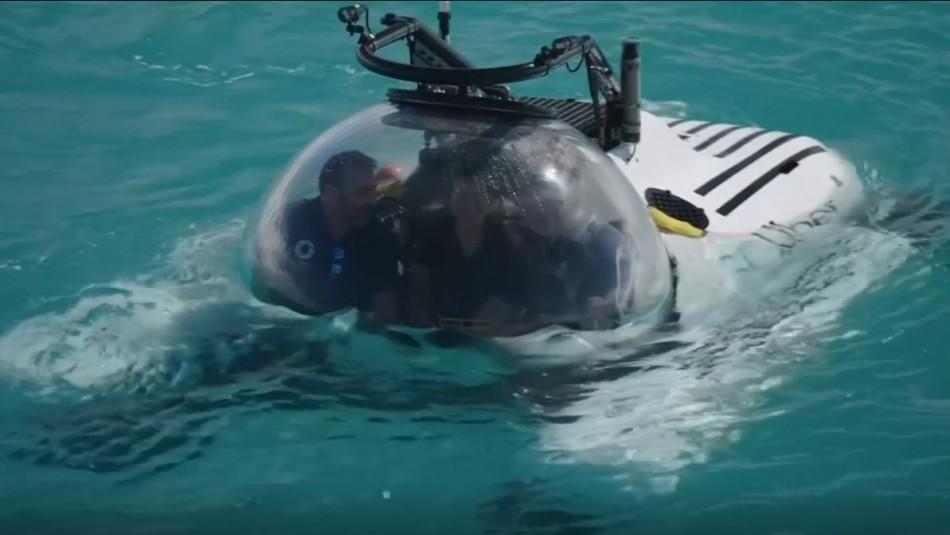 [VIDEO] Uber lanza el primer submarino de viaje compartido: ScUber