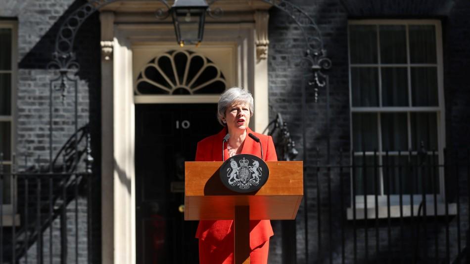 Theresa May anuncia su renuncia como primera ministra británica / Reuters.