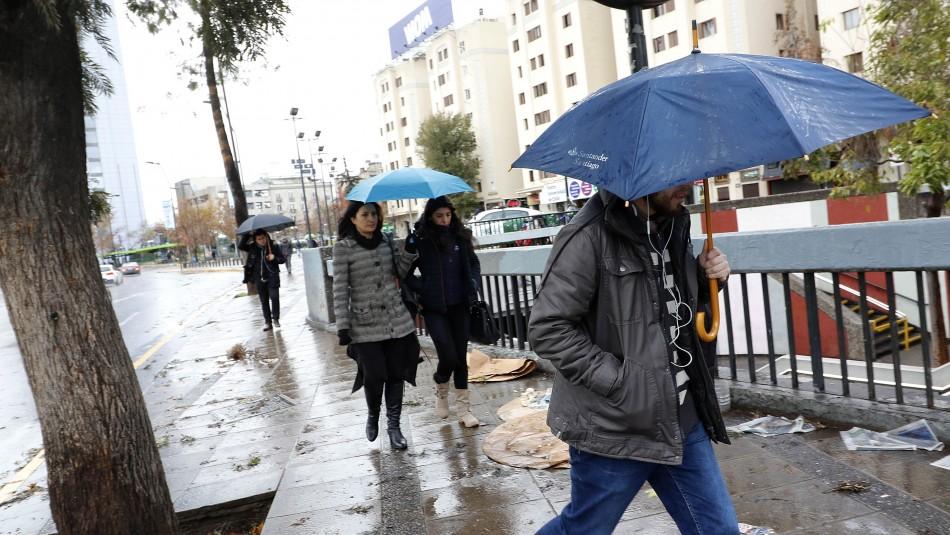 Santiago tendrá tres días con precipitaciones visibles la próxima semana