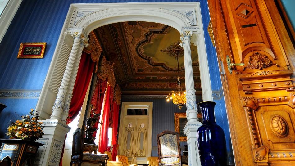 Interior del Palacio Sara Braun / Agencia Uno