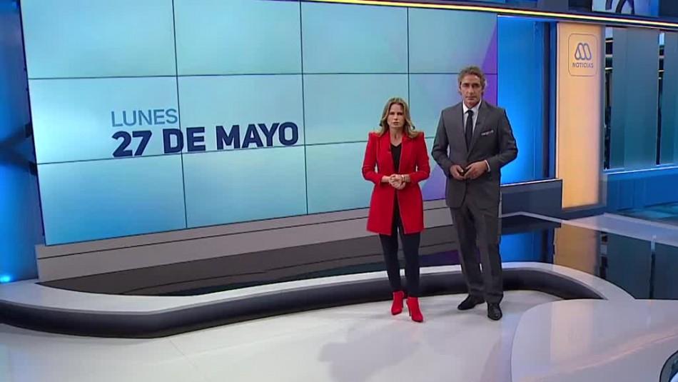 Ahora Noticias Central 27 de mayo