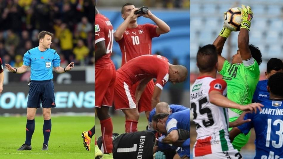 Las nuevas reglas del fútbol. / Reuters