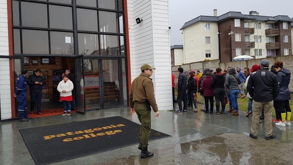 Baleo en colegio de Puerto Montt: Joven disparó porque se sacó un 2,9 en Química