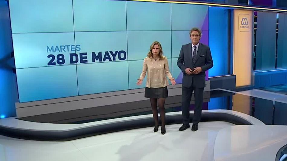 Ahora Noticias Central 28 de mayo