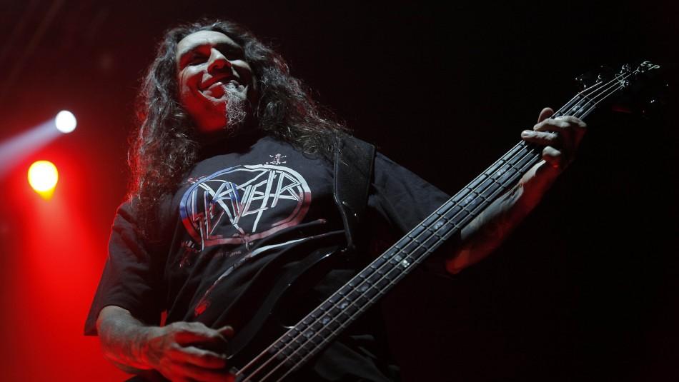 Slayer estará presente en el Santiago Gets Louder / Agencia UNO