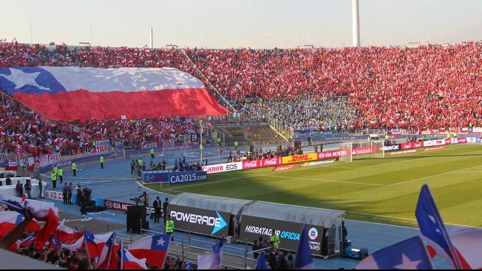 El imponente Estadio Nacional. / Agencia Uno