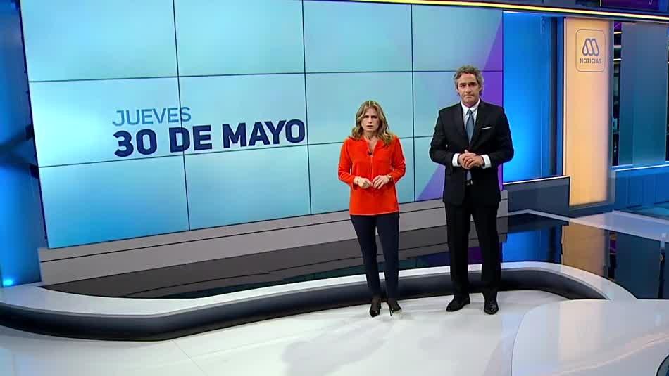 Ahora Noticias Central 30 de mayo