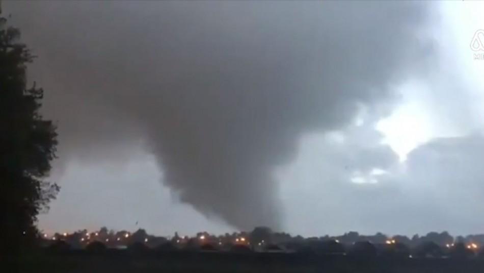 Inédito tornado en Los Ángeles: