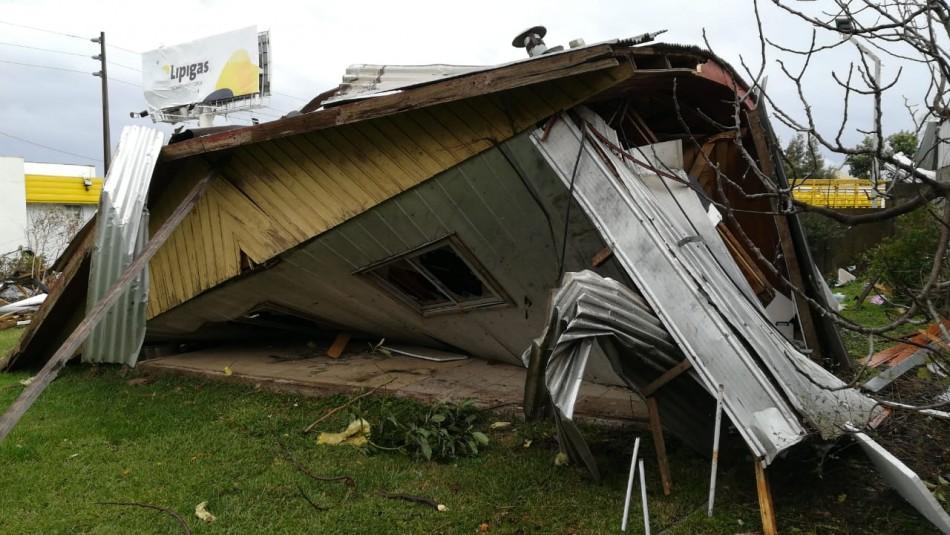 Paciente hospitalizada tras tornado en Los Ángeles: