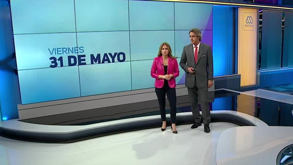 Ahora Noticias Central 31 de mayo