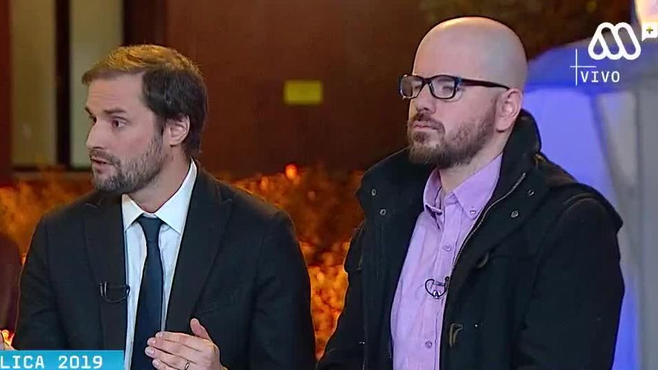 La acalorada discusión entre Giorgio Jackson y Jaime Bellolio en TV