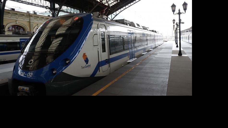 Tren que une Santiago con San Antonio y Valparaíso: Se han presentado dos proyectos