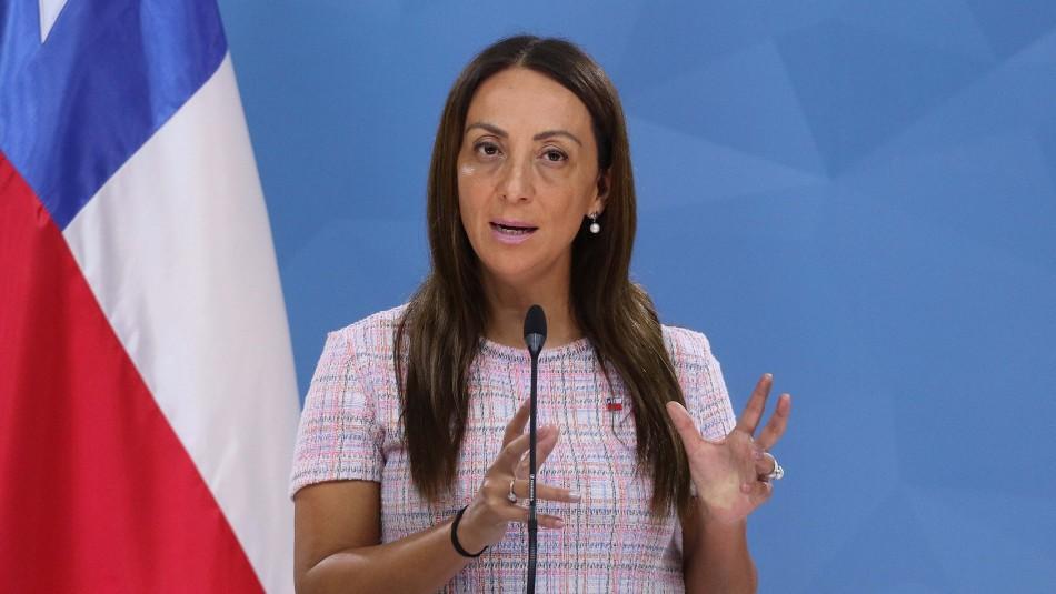 Ministra Cecilia Pérez