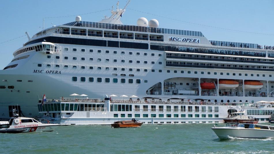 El crucero MSC Ópera / Reuters.