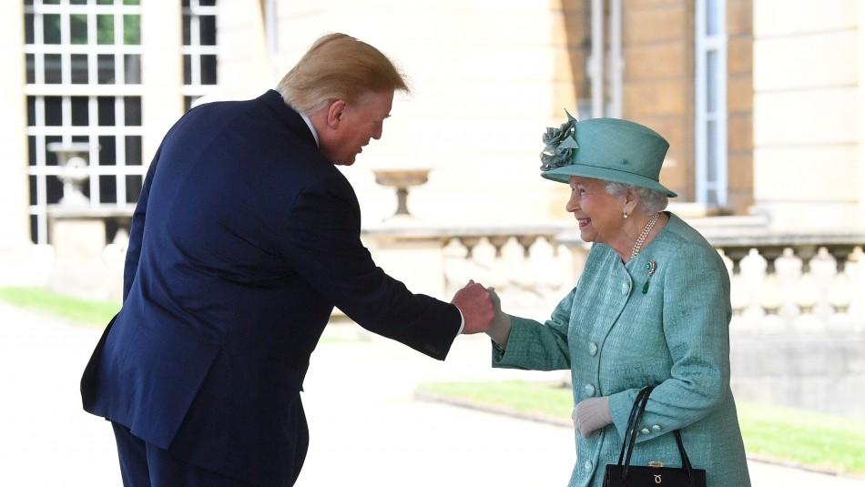 Trump llega a Londres para visita de Estado precedida por la polémica con alcalde de Londres