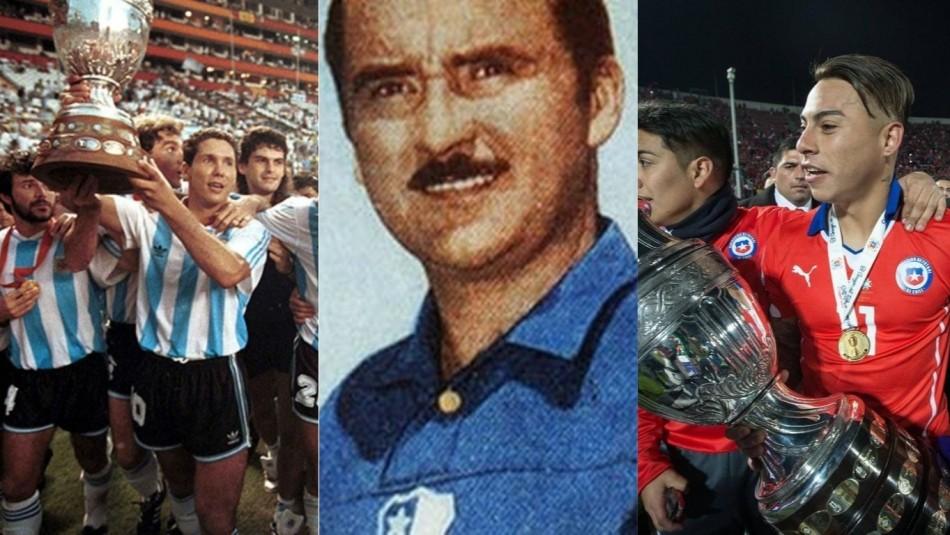 Los récords de la Copa América. / AFP