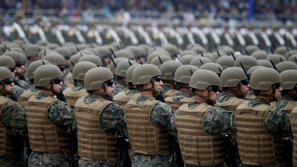 Decomisan droga en dependencia del Ejército de Temuco / Agencia Uno