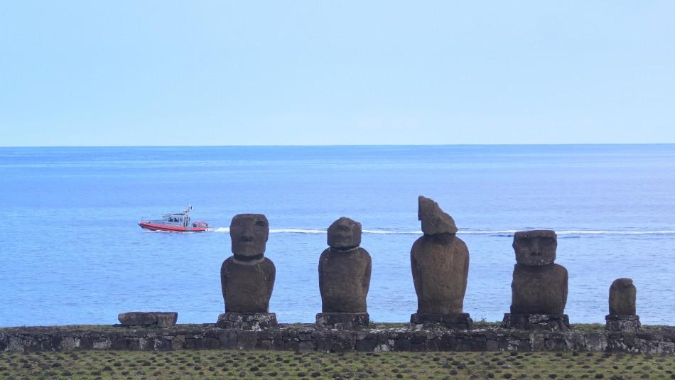 Rapa Nui / Agencia Uno