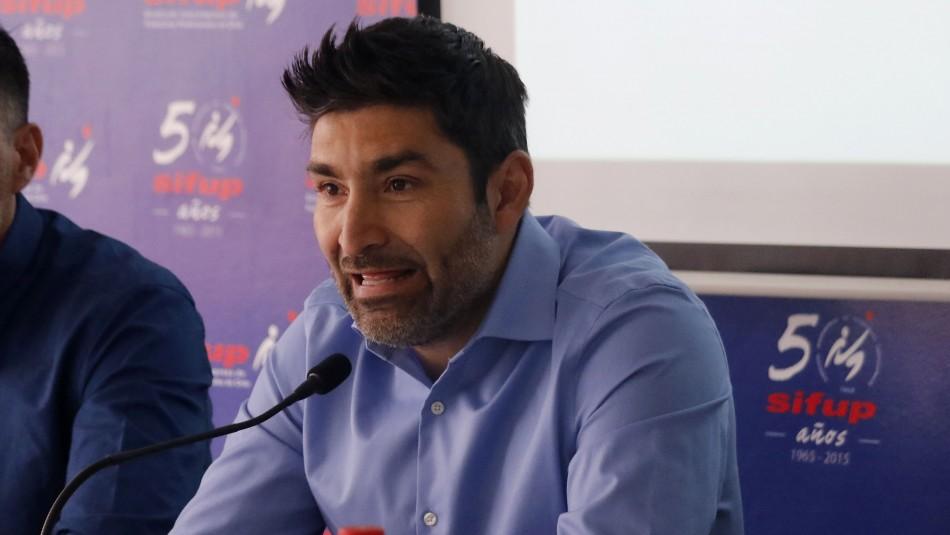 Gamadiel García, presidente del Sifup / Agencia Uno.