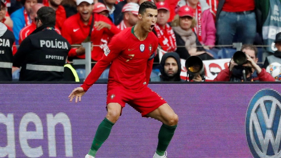Cristiano Ronaldo figura en Portugal
