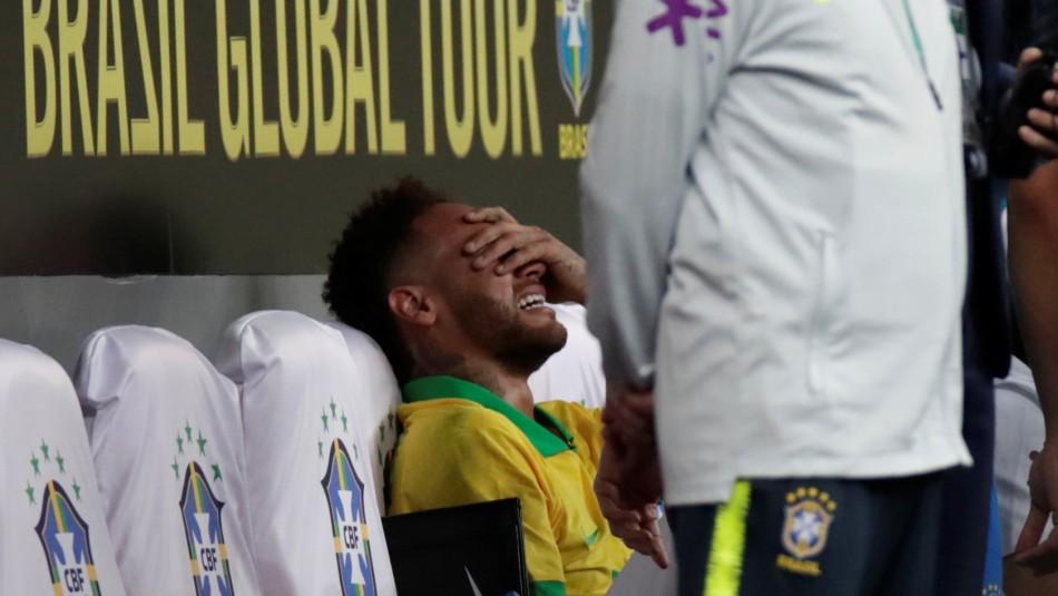 Neymar no podrá jugar la Copa América por la gravedad de su lesión / Reuters.
