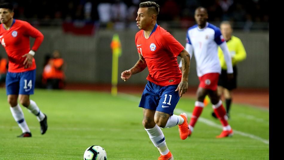 Chile vs Haití: Eduardo Vargas se afianza como tercer goleador histórico de la Roja
