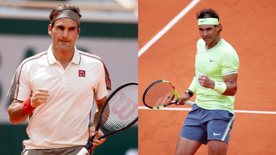 Federer vs Nadal en Roland Garros. / Reuters