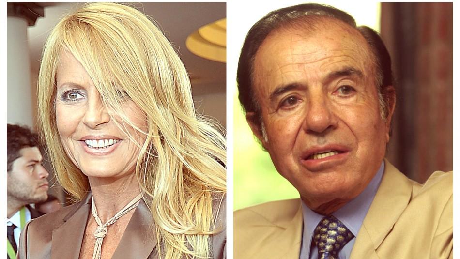 Carlos Menem abre nuevo conflicto contra Cecilia Bolocco por residencia de su hijo Máximo