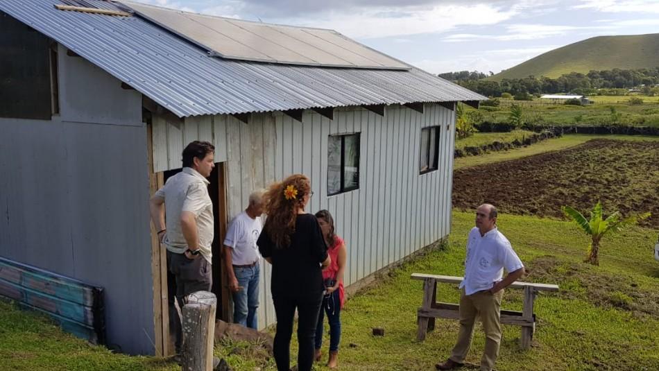 Luego de tres años de espera familias de Rapa Nui recibirán viviendas sociales
