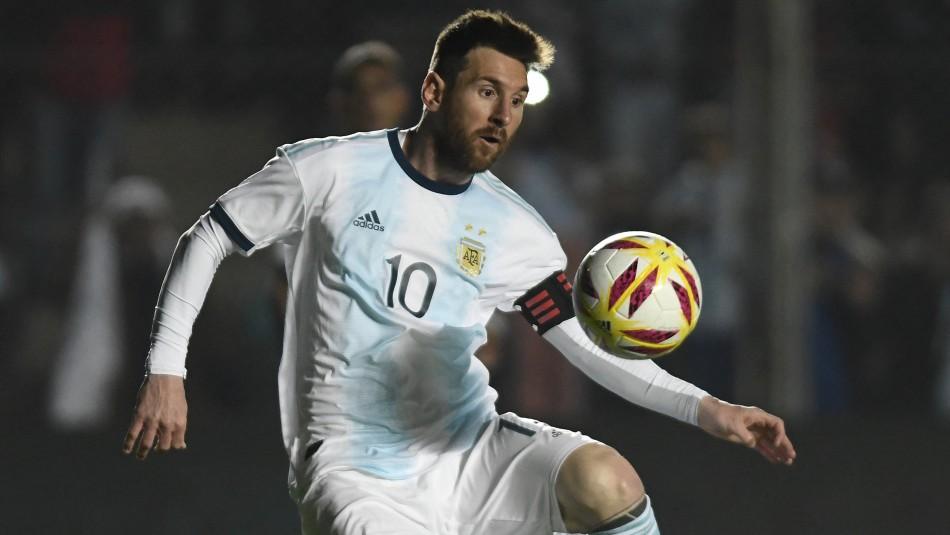 Messi lidera a Argentina en su duelo ante Nicaragua / AFP